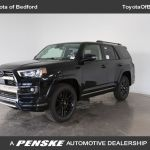New 2021 Toyota 4runner Nightshade 4wd For Sale In Bedford Ohio 42026x Penskecars Com