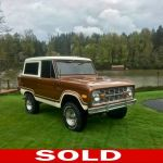1975 Ford Bronco Not Specified For Sale Newberg Or Motorcar Com