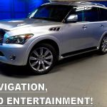 2012 Infiniti Qx56 4wd With Theater Package Suv