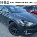 2016 Used Tesla Model X White Interior Best Color Combo At Motorpoint Roswell Ga Iid 20500562