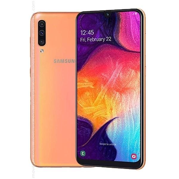 Samsung Galaxy A50 Dual SIM en Coral de 128GB y 4GB RAM ...