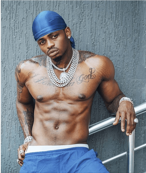 Endelea kulea kitambi! Photos of Diamond's abs that will make your girlfriend leave you for him