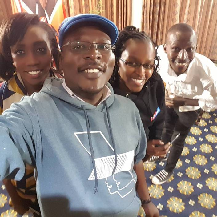 Life and times of KTN news Editor Edwin Audi who died in a road crash-Photos