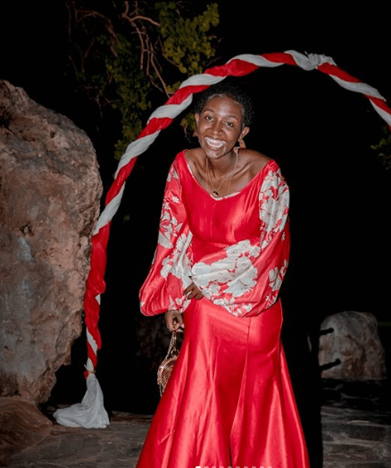 'Whoever dressed you should be arrested!' Kenyans react to Mammito's red dinner dress