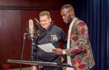 Check out the hiphop track featuring Ambassador McCarter and King Kaka