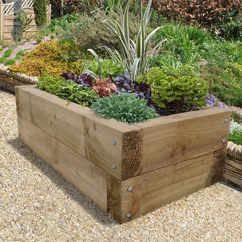 Vegetable Garden Planter Box Plans
