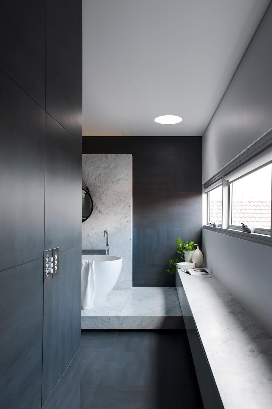 Award-winning monochromatic Bathroom by Minosa Design on Monochromatic Bathroom Ideas  id=67985