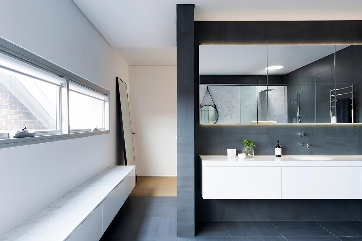 Award-winning monochromatic Bathroom by Minosa Design on Monochromatic Bathroom Ideas  id=11366