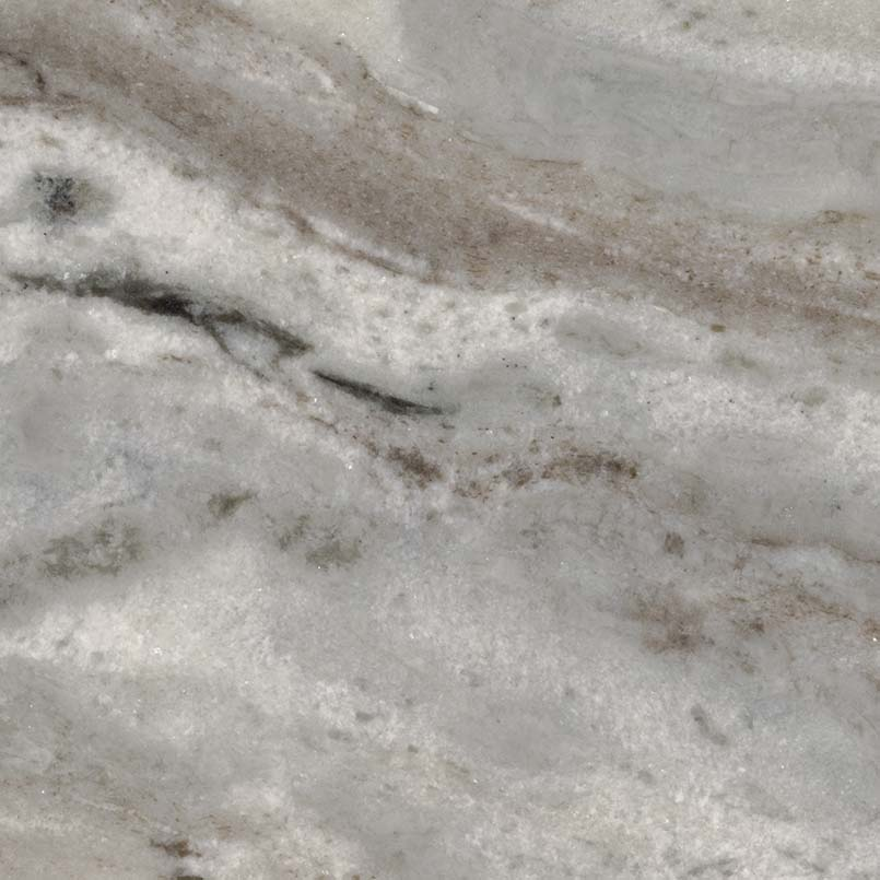 Dramatic Fantasy Brown Marble Countertops And Tile Flooring