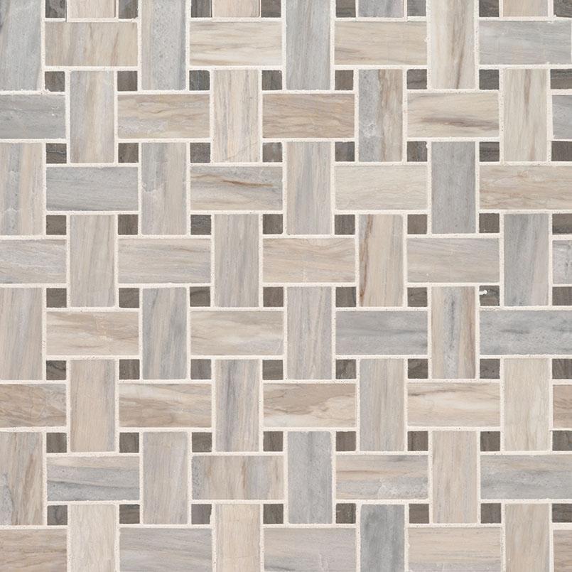 angora basketweave polished basketweave tile