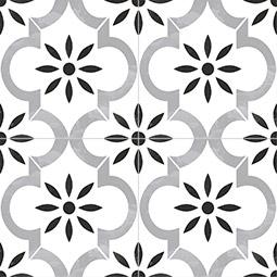 kenzi porcelain tiles patterned wall