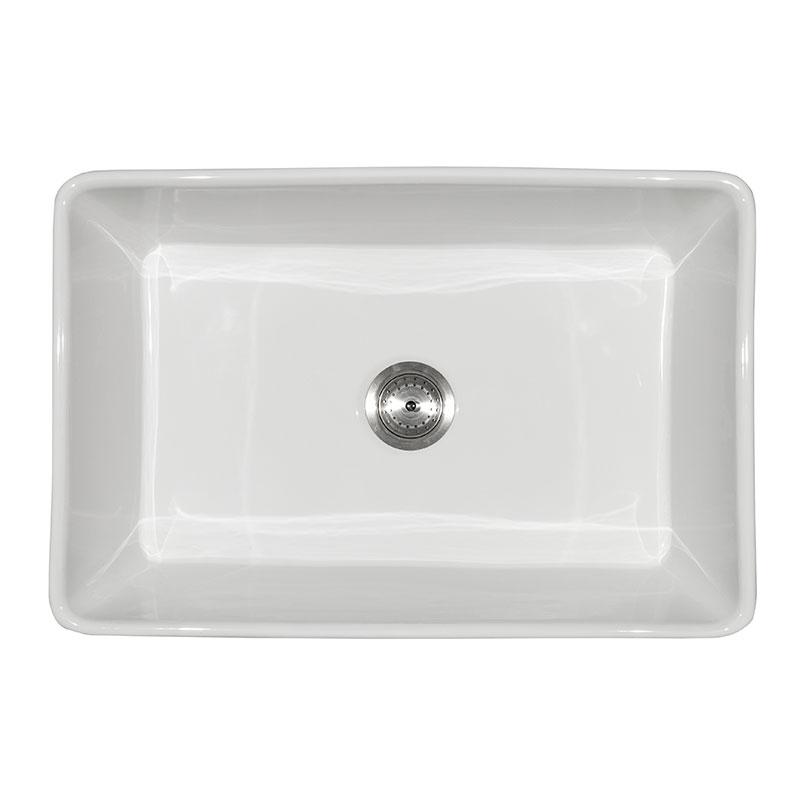 fireclay farmhouse white single bowl 3020