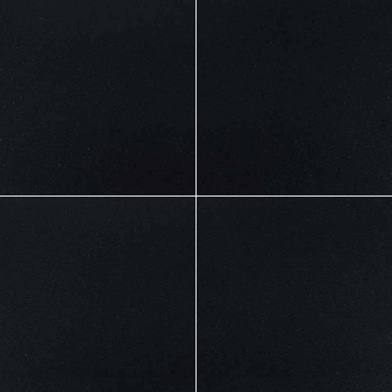 granite tile floor 12 x12 black