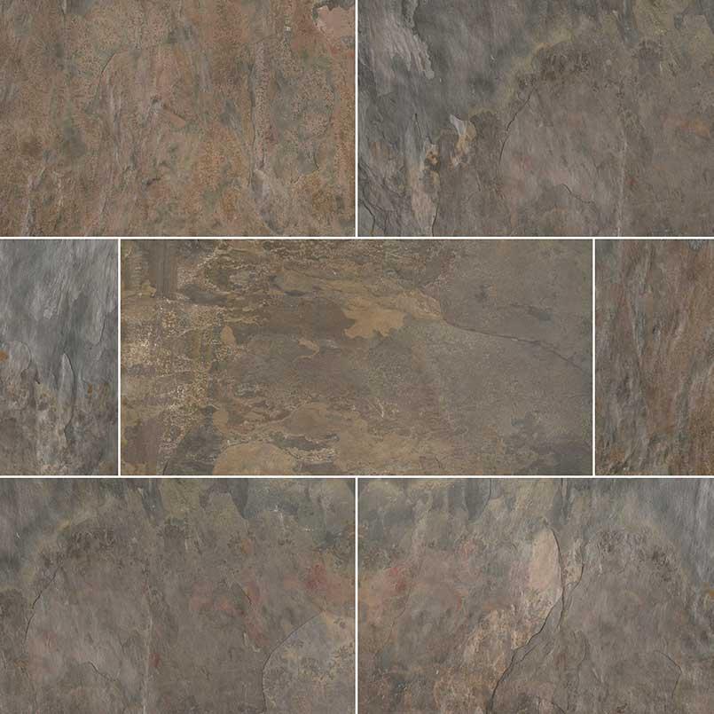 rustic gold slate tile slate flooring