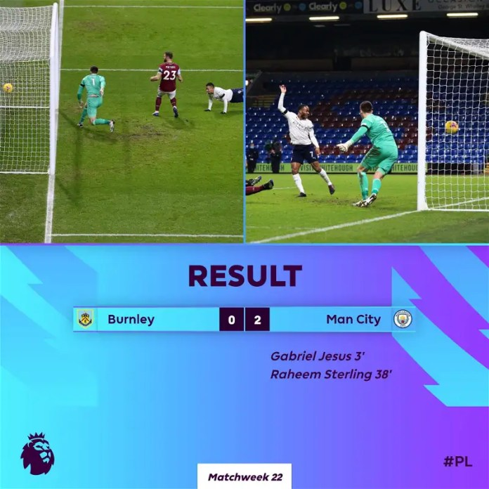 Manchester City's victory and Liverpool's loss by Brighton ... Premier League standings