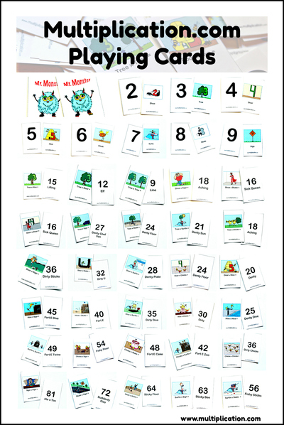 Times Table Fishing Game