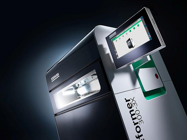 arburg, freeformer 300-3X, formext 2018, sistema de fabricación aditiva, impresión 3d, piezas más grandes, arburg plastic freeforming
