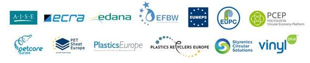 industria europea de los plásticos, asociaciones de la cadena de valor de los plásticos, plasticseurope, circularidad de los plásticos, economía circular, encuentro bruselas, plastics converters, petcore europe, edana, plastics recyclers europe, european plastics converters, aise