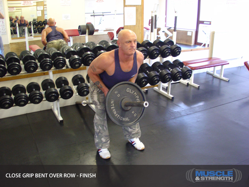 Close Grip Bent Over Row Video Exercise Guide Amp Tips