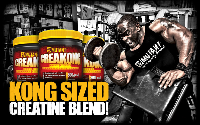 CreaKong by Mutant: Lowest Prices at Muscle & Strength