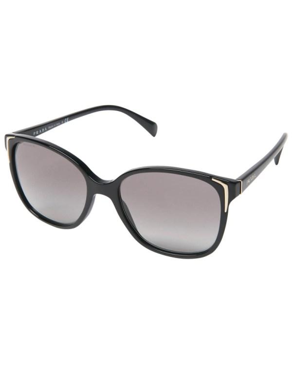 "Prada Damen PRADA ""PR 01OS"" Sonnenbrille, Verlaufsgläser ..."
