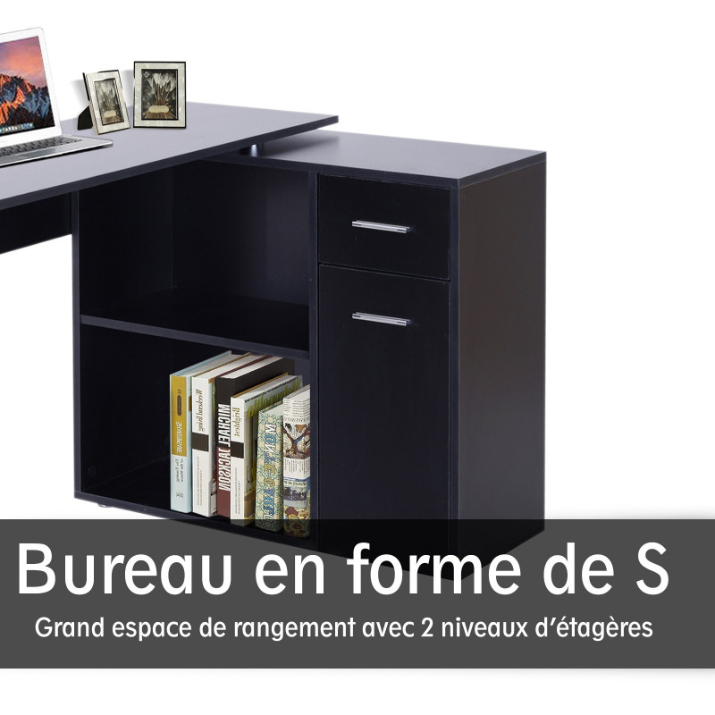 bureau informatique meuble d angle