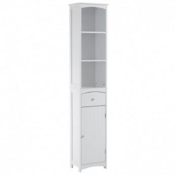 meuble colonne pour salle de bain marilise blanc mycocooning