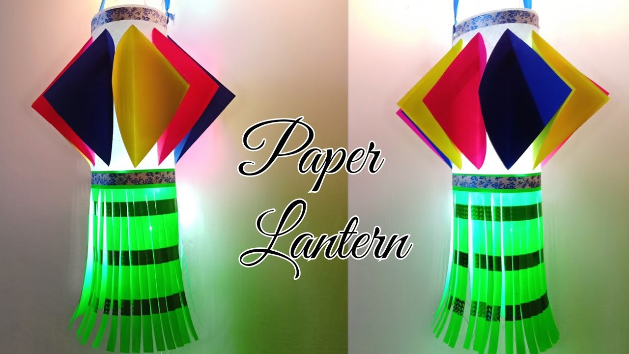 Christmas crafts for kids is a great way to keep kids busy during the cold winter season. Paper Lantern Diwali Decoration Ideas Diwali Lantern From Paper How To Make Paper Lantern For Diwali