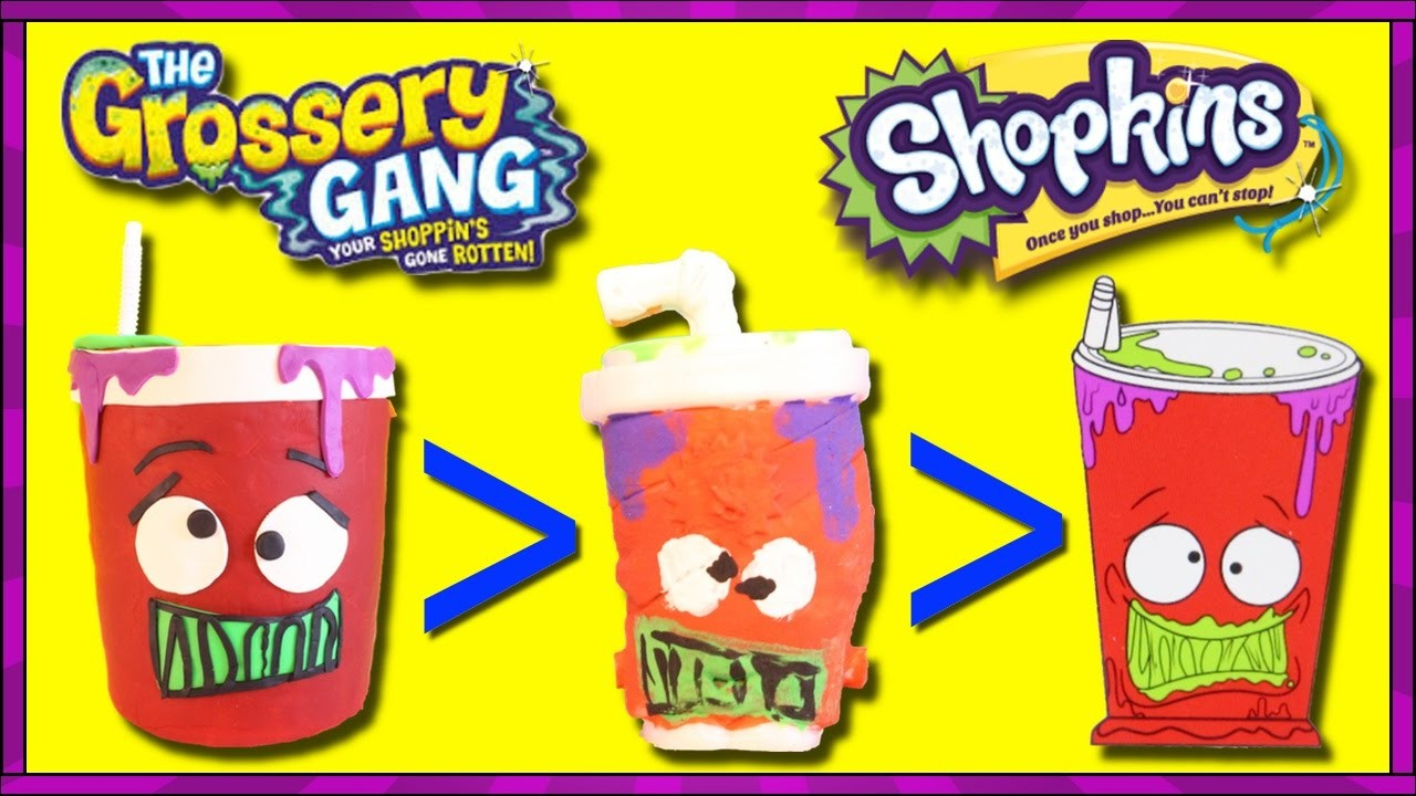 GROSSERY GANG Giant Play Doh Bucket Of Gross Surprise Toys