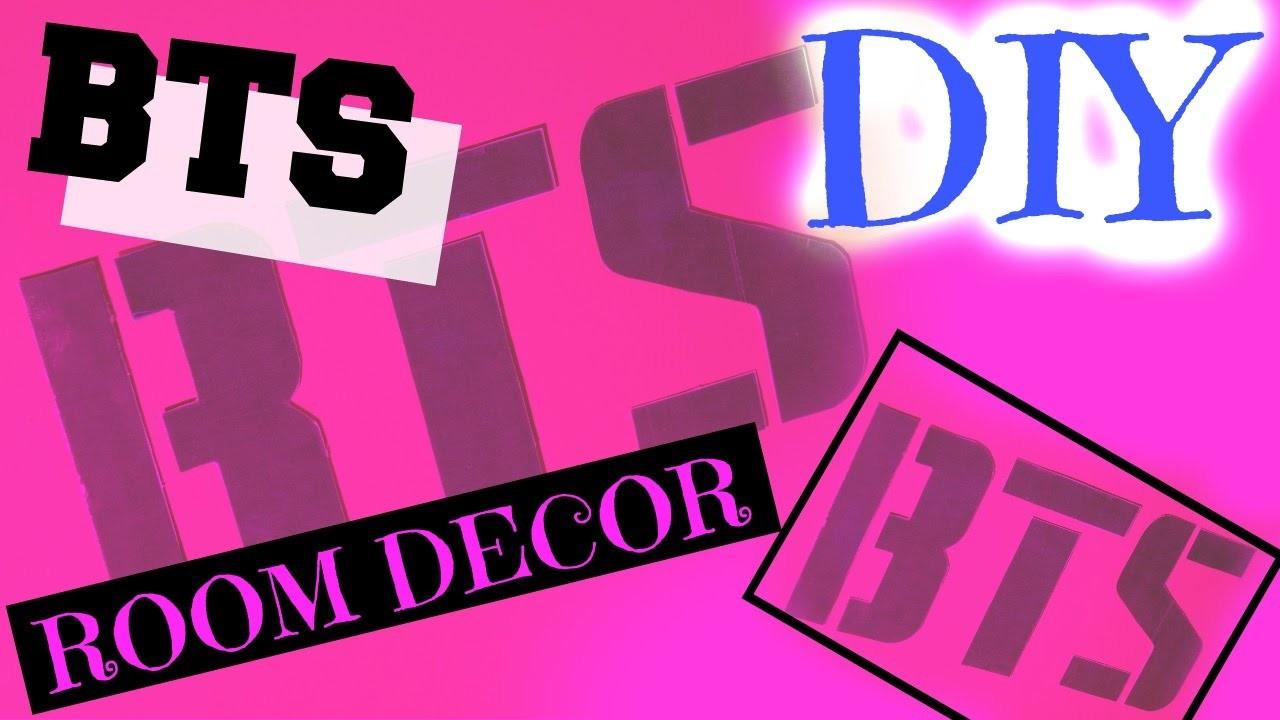 DIY - BTS. KPOP Room Decor, KpopStyled on Room Decor Bts id=68649