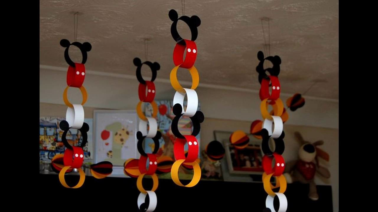 Mickey Mouse Party Themed Decorating Ideas My Crafts And