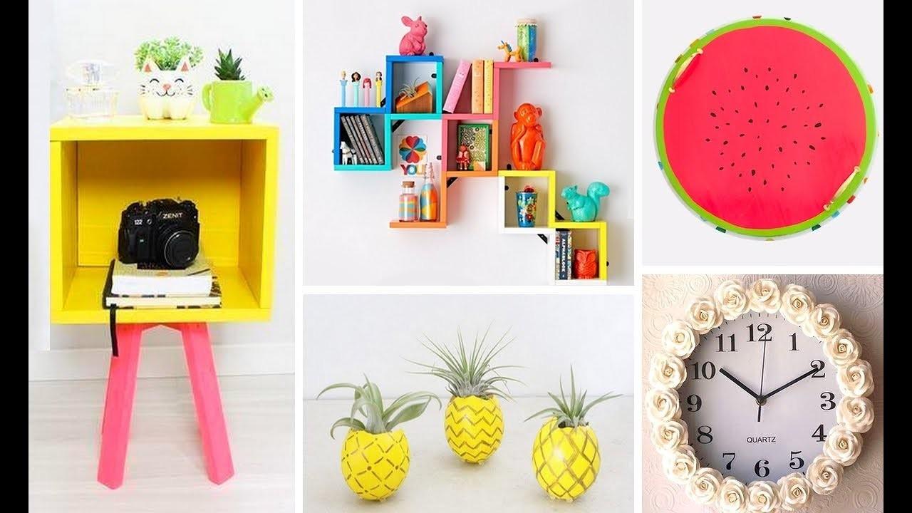 DIY ROOM DECOR! Easy Crafts Ideas At Home⚠️????♥