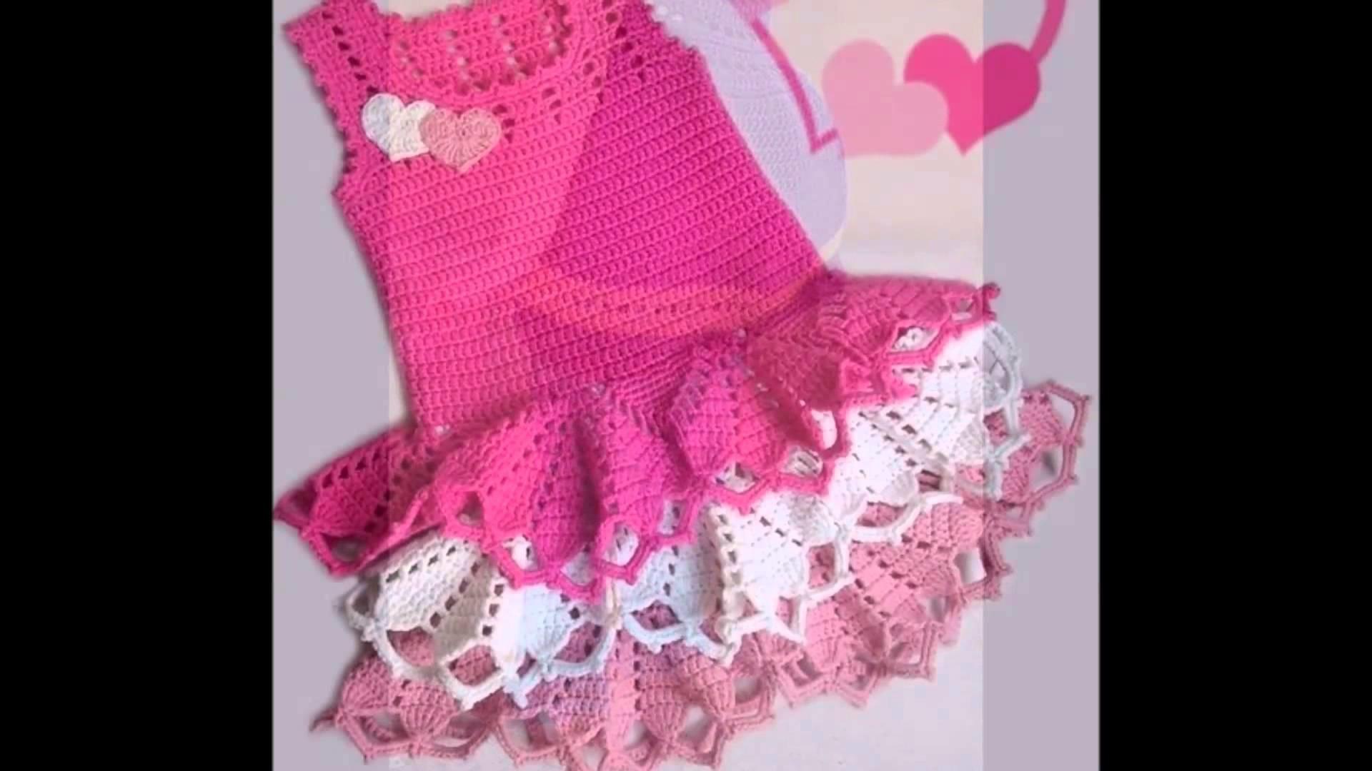 Vestido Crochet Nia 4 Aos