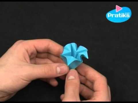 Origami Comment Faire Une Fleur En Papier Facile