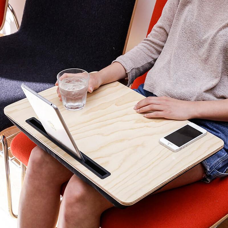 plateau ibed xl support tablette en bois