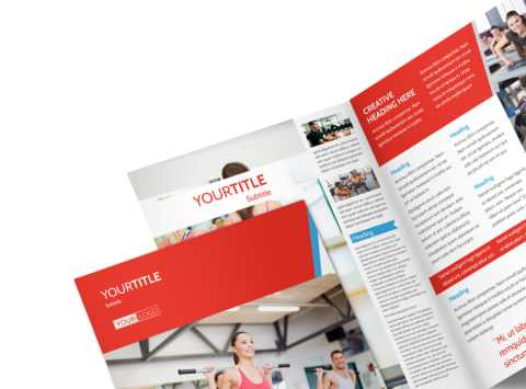 HD Decor Images » Fitness Center Brochure Template   MyCreativeShop Fitness Center Brochure Template