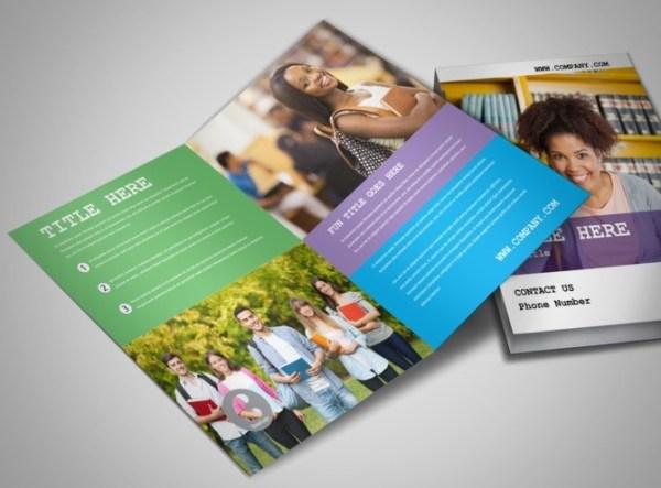 College University Education Brochure Templates
