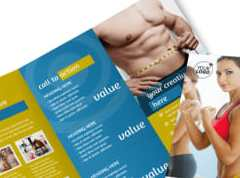 HD Decor Images » Core Fitness Gym Brochure Template   MyCreativeShop Core Fitness Gym Tri Fold Brochure Template