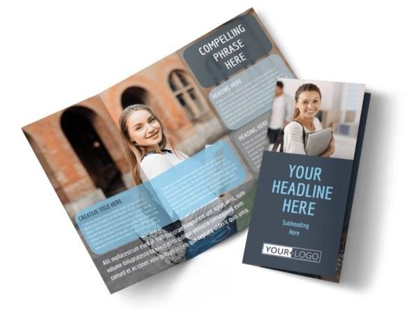 Tech University Brochure Template MyCreativeShop