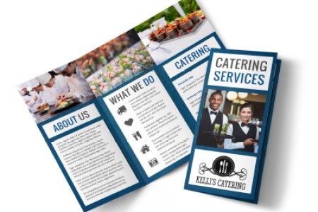 Catering Service Brochure Template   MyCreativeShop Catering Service Tri Fold Brochure Template