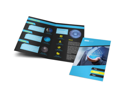 brochure home security free press templates full images