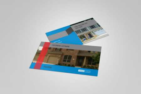 Residential Real Estate Business Card Template   MyCreativeShop Residential Real Estate Business Card Template
