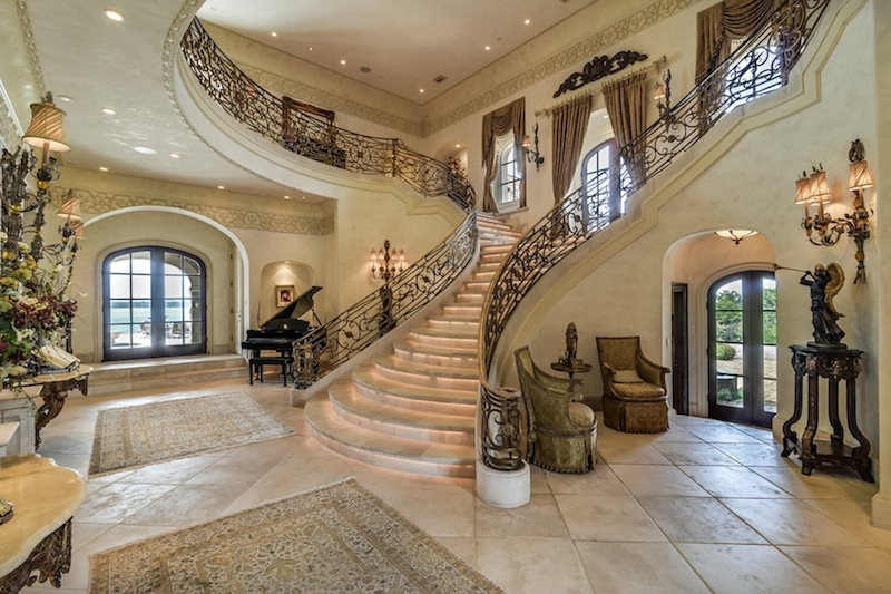 Majestic French Chteau In Texas 16