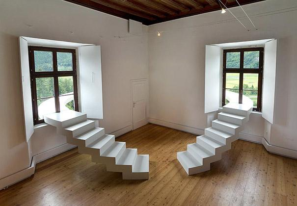 Outside house stairs design pictures