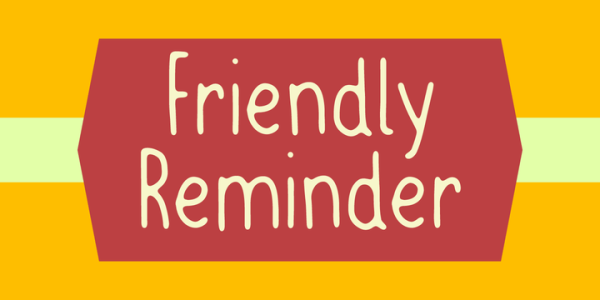 Friendly Reminder Font   Webfont & Desktop   MyFonts