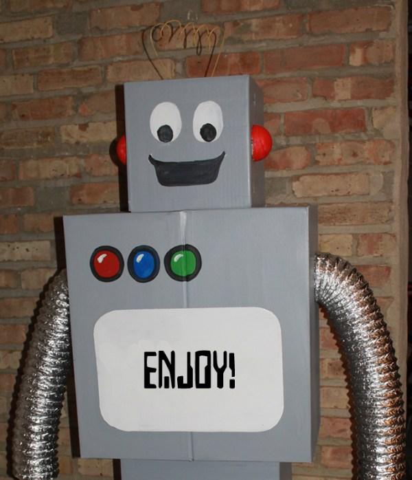 Cardboard Robot - kidlist • activities for kids