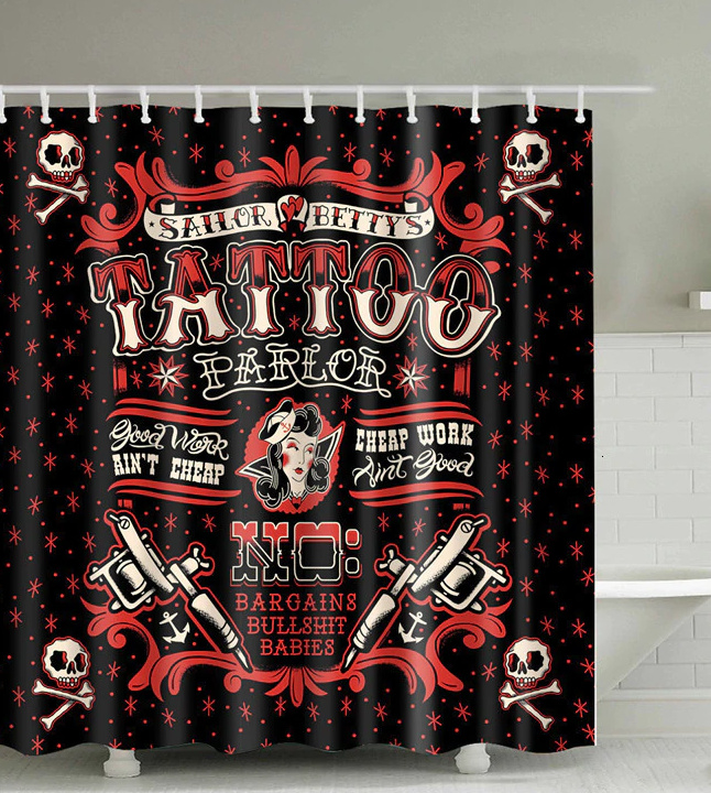 shower curtain room divider sailor