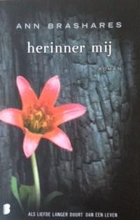 Image result for Herinner mij - Ann Brashares