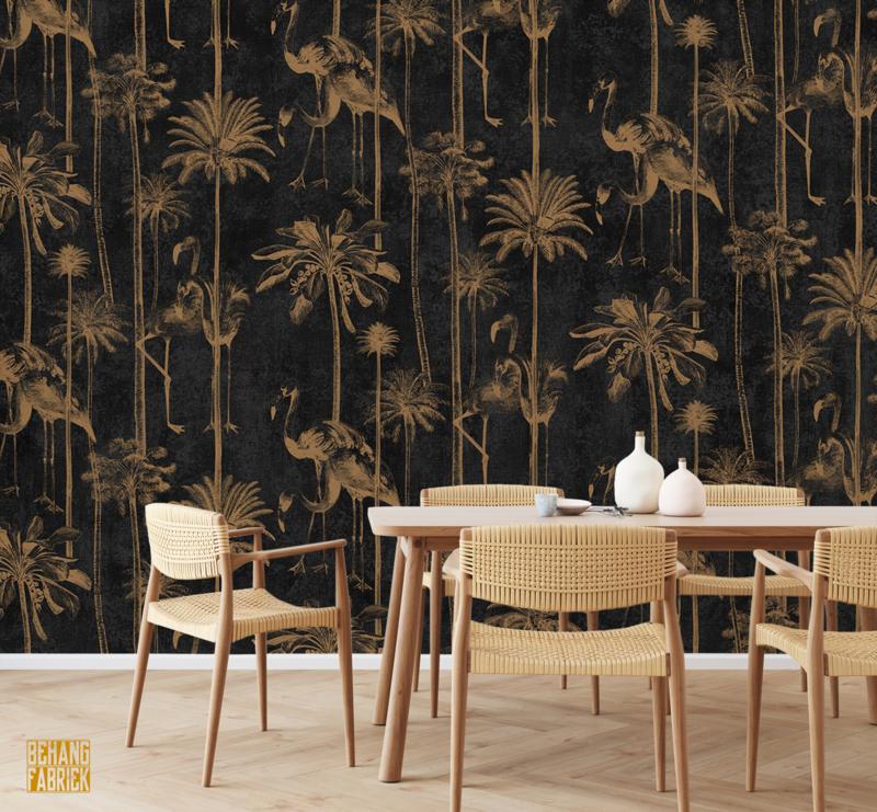 Il bello di un wallpaper, però, sta nell'essere un elemento contemporaneo e custom made,capace di rispondere alle differenti esigenze di spazio superfici: Wallpaper Gio Pagani For Londonart