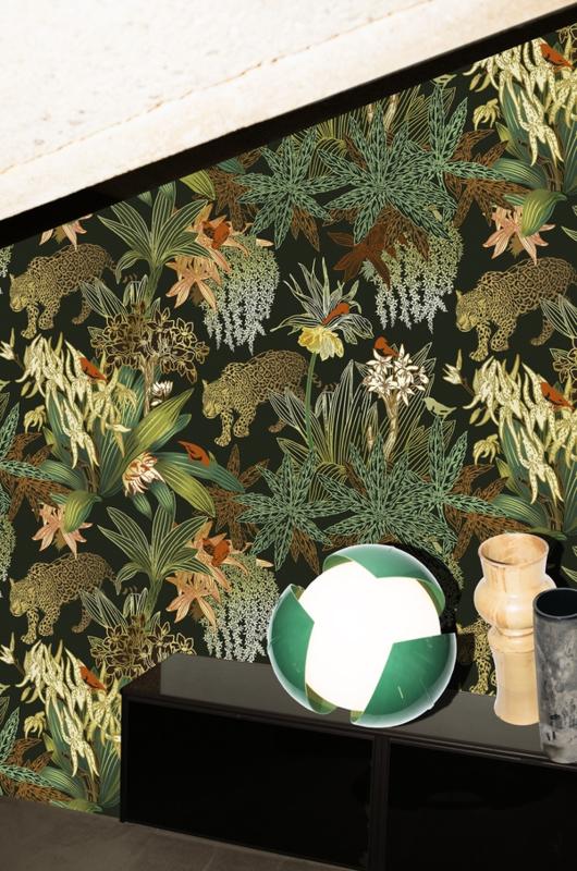 gio pagani presenta la nuova collezione di carte di wallpaper realizzata in collaborazione con wall&decó. Wall And Deco Carta Da Parati Tropiko Behangfabriek